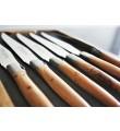 Eske med 12 Laguiole En Aubrac Enebær (Juniper) biffkniver