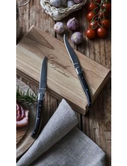 4 stk. Laguiole Le Couteau biffkniver (Wenge)